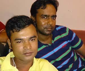 Evan (left) and Hakim